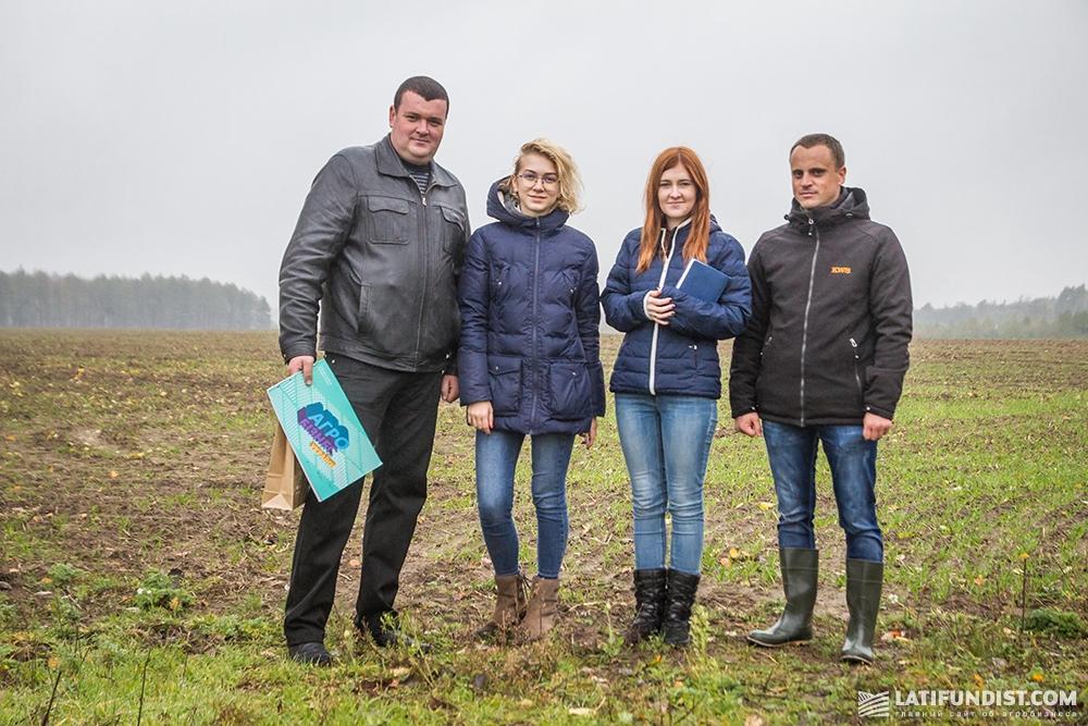 Мы скоро вернемся в Житомирскую область, чтобы проследить за развитием гибрида ГУТТИНО