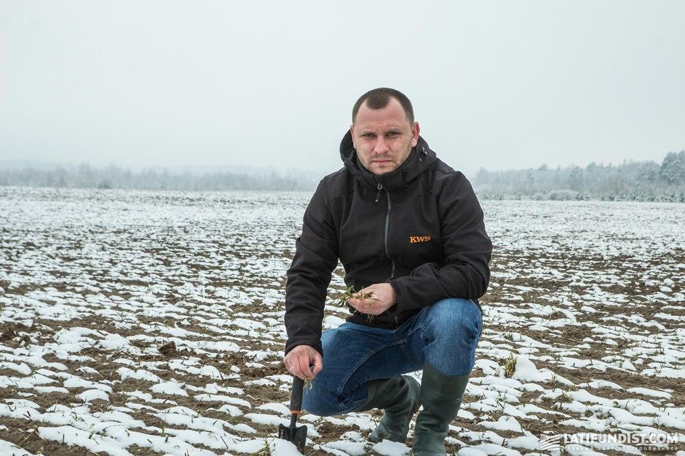 Святослав Гриневич, торговый представитель компании «КВС-УКРАИНА» отдела зерновых культур в Западной Украине