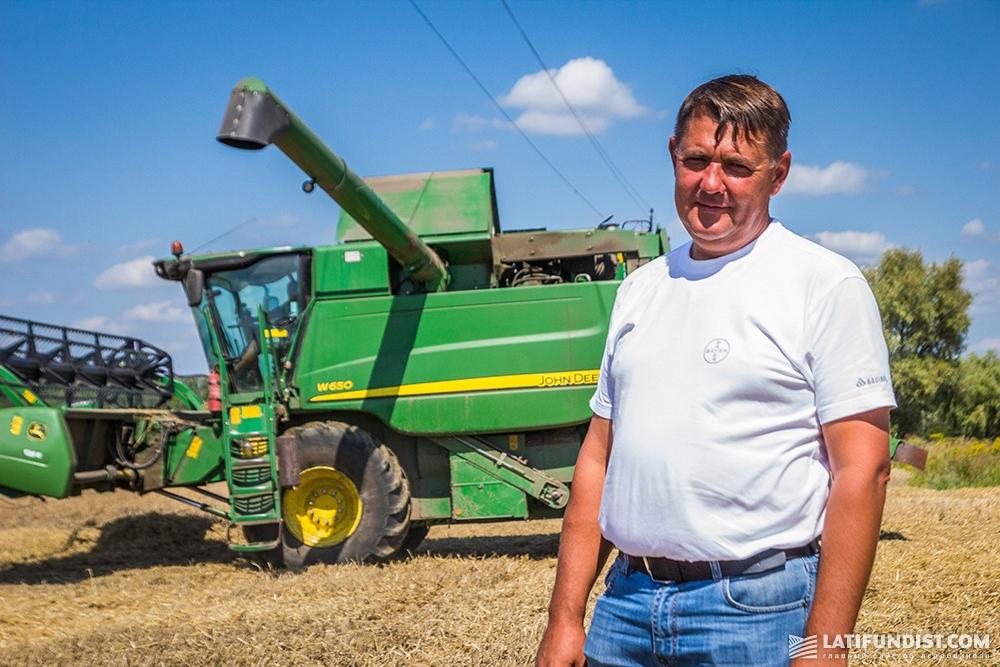 Виктор Петрашенко, главный агроном «Вега Агро»