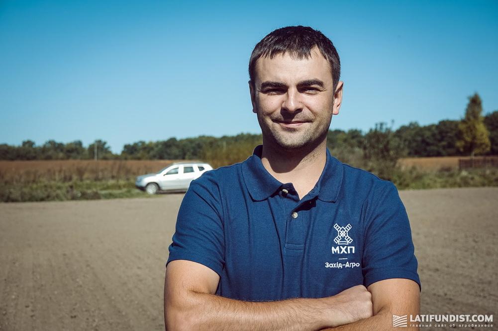 Андрей Курилас, агроном по защите растений предприятия «Захид-Агро МХП»