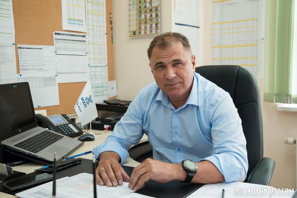 Вадим Лёшенко, директор предприятия «Агро-Захид МХП»