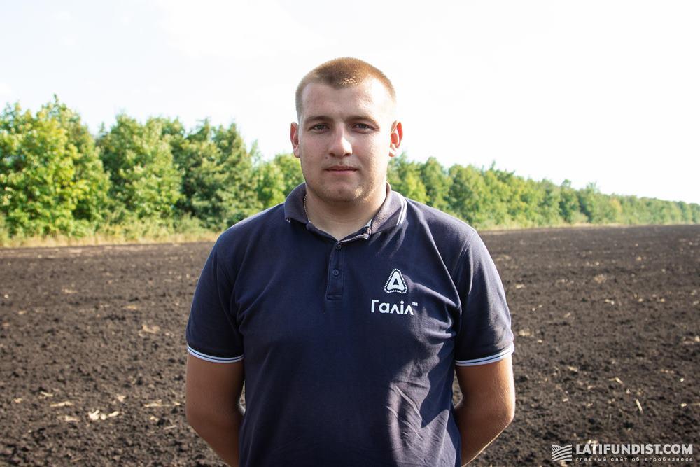 Станислав Кришталь, агроном «Кириченко М»