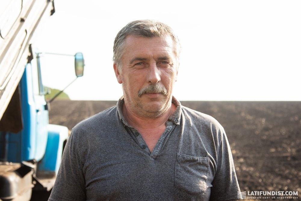 Вадим Клименко, механизатор «Кириченко М»