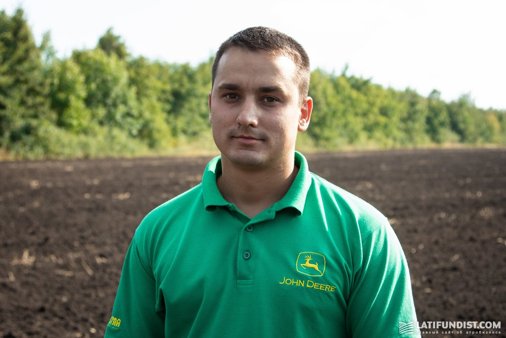 Александр Билык, менеджер по продажам техники компании Agristar