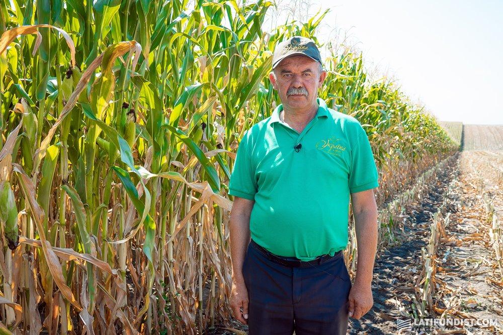Ярослав Господарский, главный агроном хозяйства «Украина»