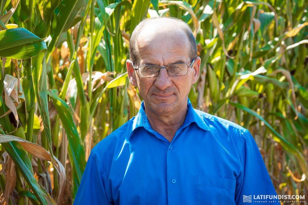 Богдан Квятковский, главный инженер хозяйства «Украина»