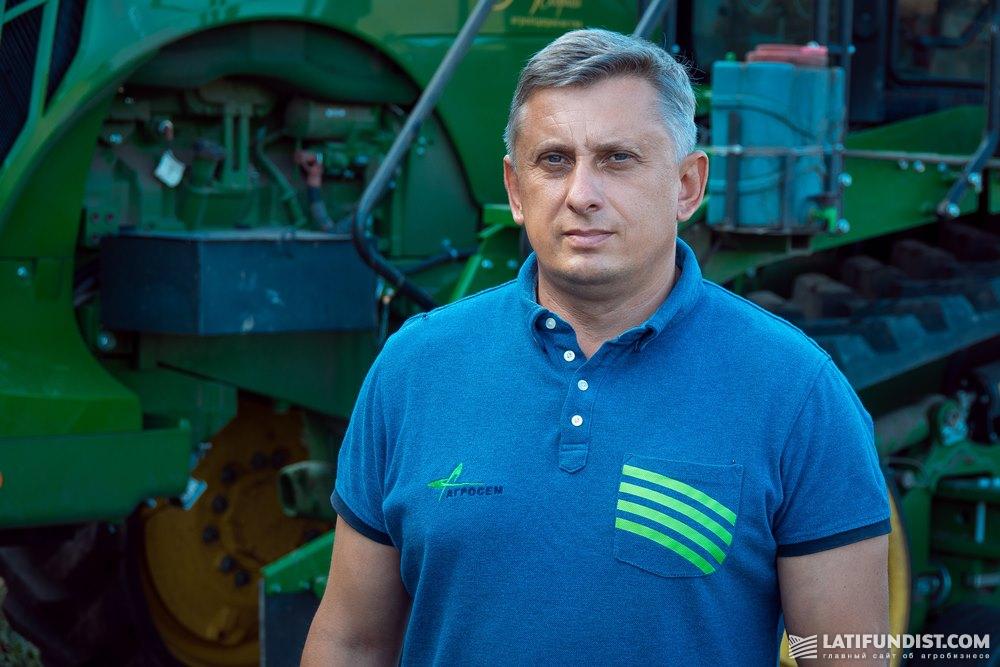 Павел Кузьмин, руководитель регионального структурного подразделения «Подольский филиал» компании «Агросем»