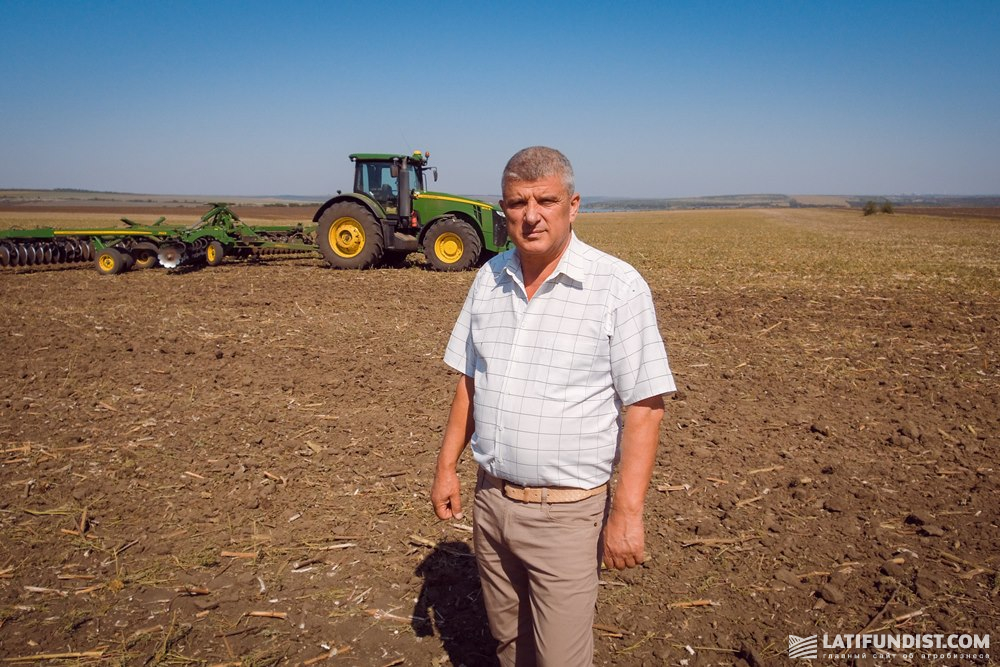 Николай Касимов, директор хозяйства им.Суворова