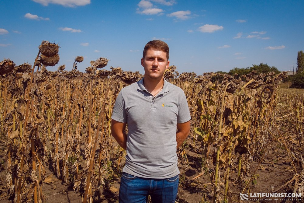 Егор Калашников, специалист по точному земледелию компании «Ландтех»