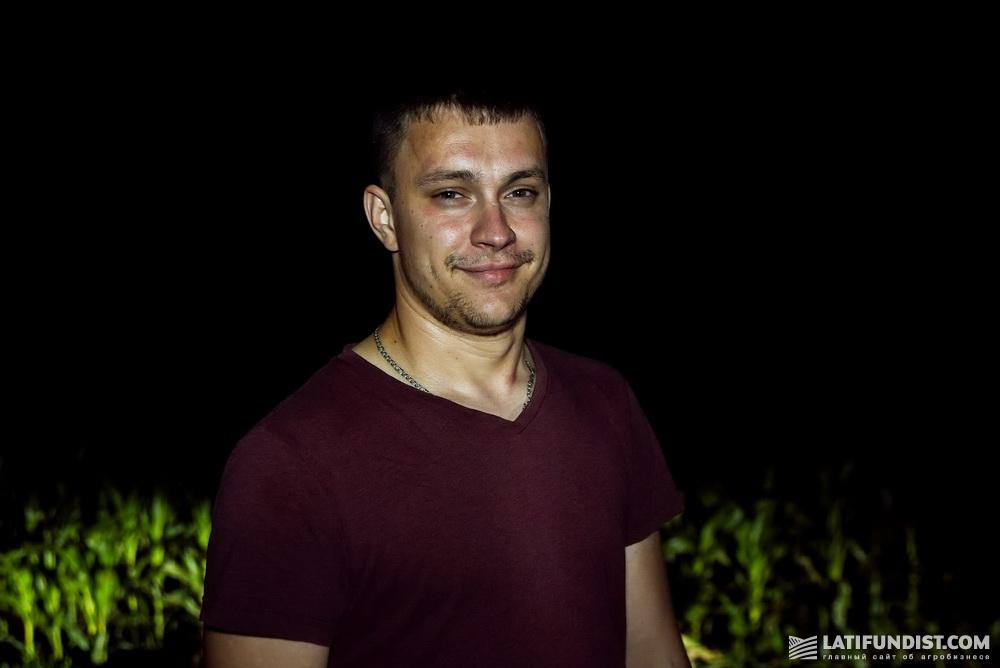 Александр Болилогий, агроном «Нивы Переяславщины»