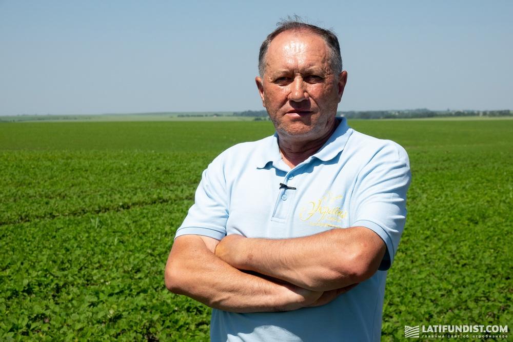 Игорь Пославский, агроном-агрохимик предприятия «Украина»