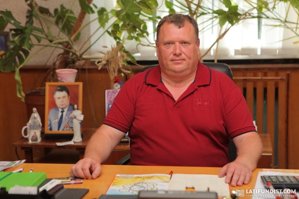 Олег Скринчук, владелец хозяйства «Украина-Агро-2С»