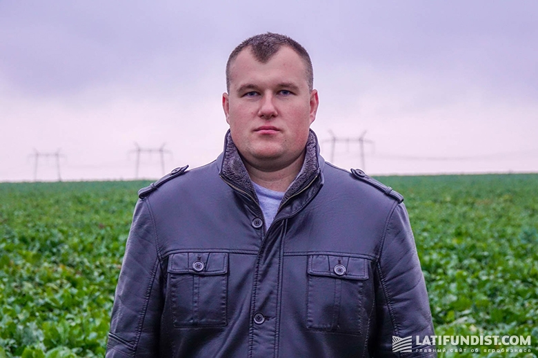 Денис Петросюк, региональный представитель Bayer в Тернопольской области