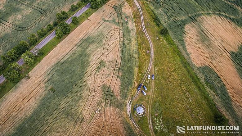 Поле «Агро-Региона» с высоты птичьего полета