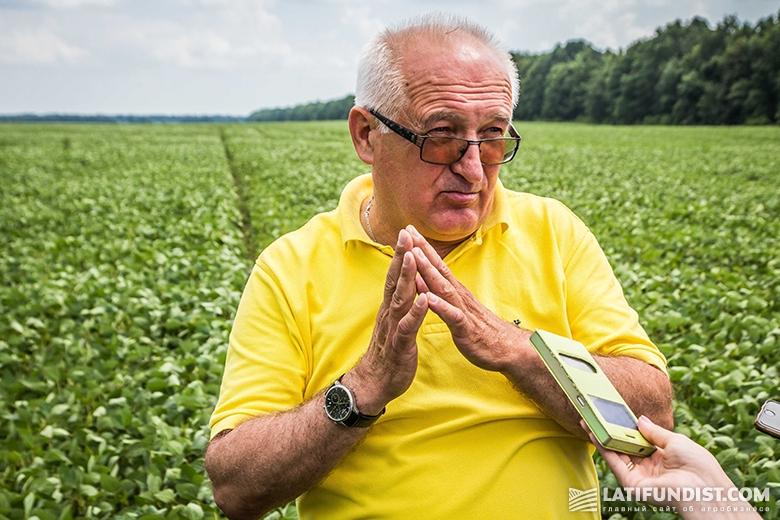 Богдан Черемха с удовольствием делится агротехнологическими секретами