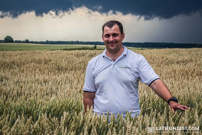 Олег Пащенко, директор подразделения «Борисполь» агрохолдинга «Агро-Регион»