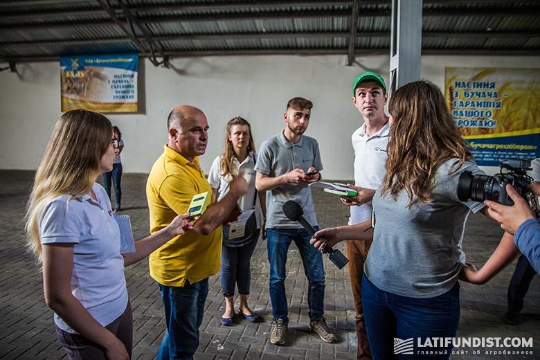 Общаемся с Михаилом Евусяком, руководителем семенного завода