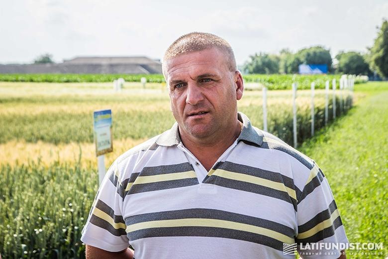 Тарас Швец, заместитель директора по растениеводству компании «Бучачагрохлибпром»