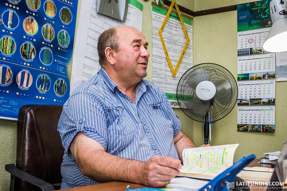 Петр Смык, главный агроном «Агросвит-Волынь»