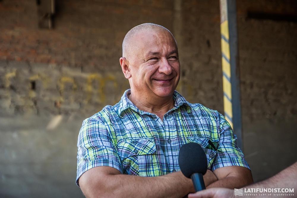 Евгений Шелепина, директор компании «Агросвит-Волынь»
