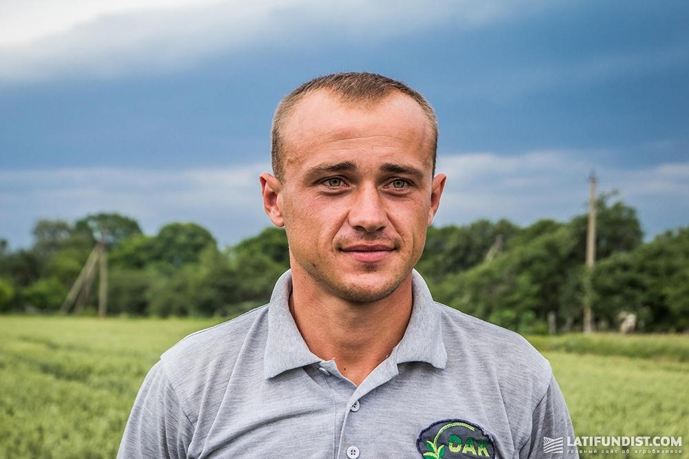 Михаил Гринишин, агроном «Дубенской аграрной компании»