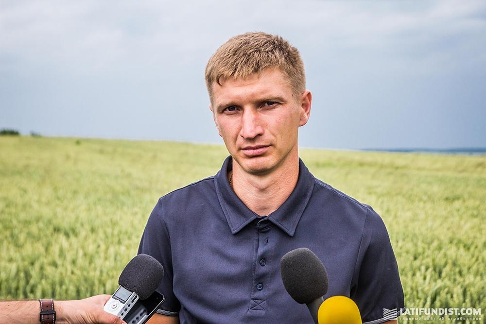 Александр Талимончук, агроном предприятия «ИДЕК-2006»