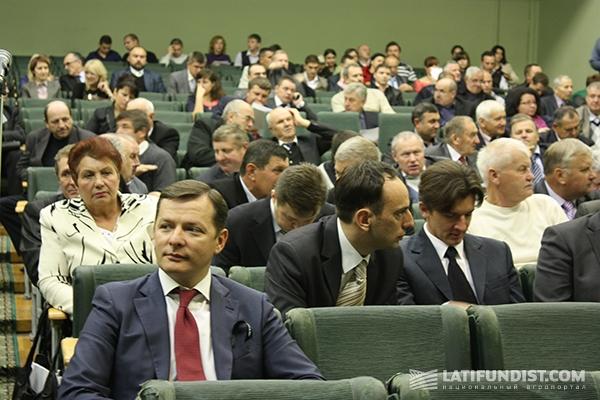 Слева: Олег Ляшко
