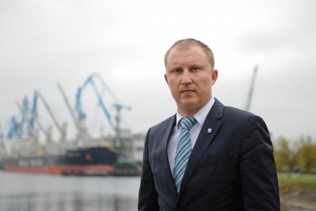 Райвис Вецкаганс, и.о. председателя ГП «Администрация морских портов Украины»