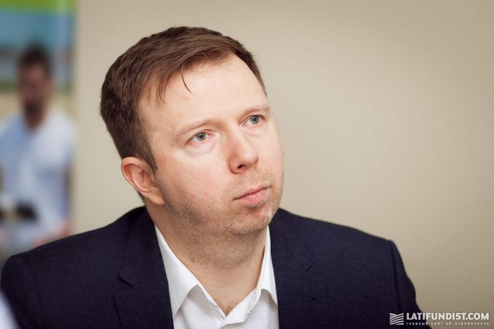 Антон Яковенко, генеральный директор «Агроскоп Интернешнл»