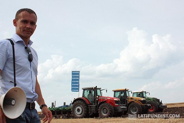 Дмитрий Бородий, руководитель департамента продажи сельскохозяйственной техники ООО «Амако Украина»