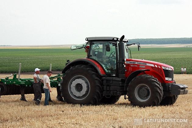 трактор Massey Ferguson MF 8670