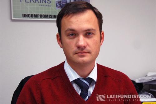 Руководитель департамента продаж запасных частей компании АМАКО Украина Андрей Томкевич