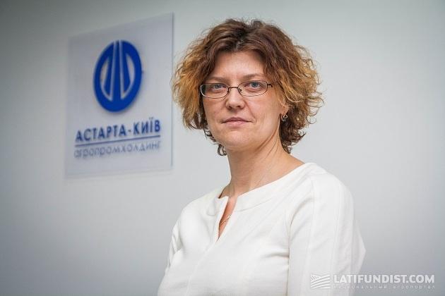 Коммерческий директор компании «Астарта-Киев» Наталья Трохимчук