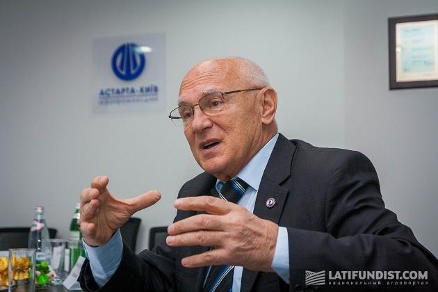 Президент Украинской ассоциации качества Петр Калита