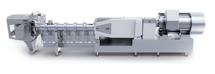 Текструдаты могут изготавливаться на всех двухшнековых экструдерах «Бюлер»