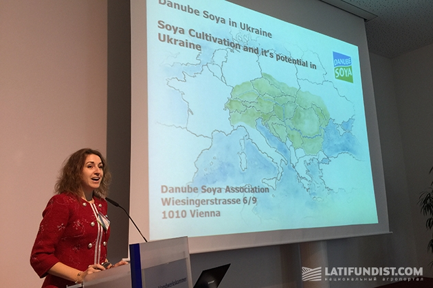 Представитель ассоциации «Дунайская соя» в Украине Инна Ильенко