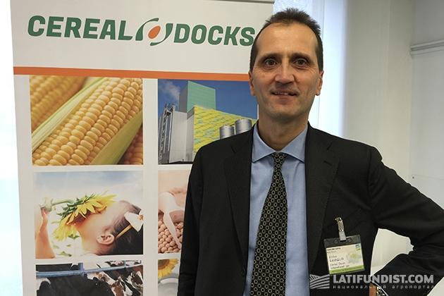 Глава компании Cereal Docks Энрико Заваглия