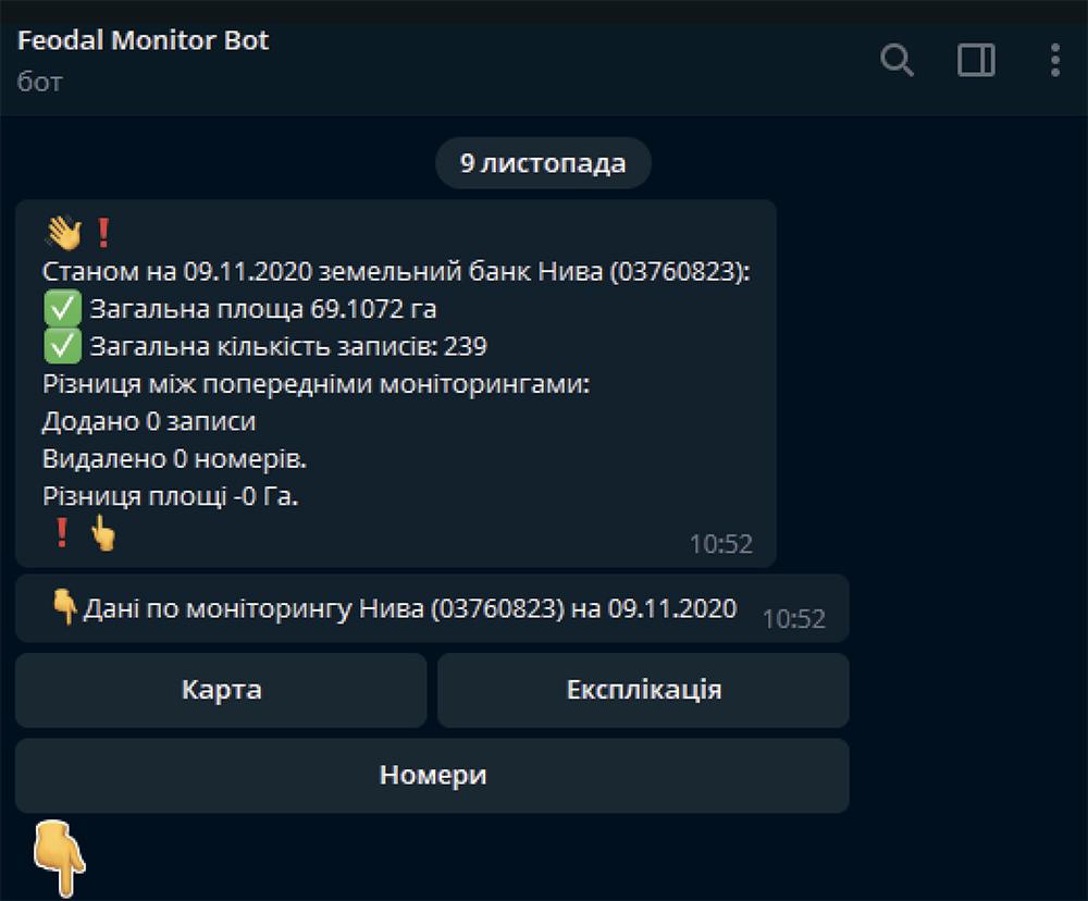 Feodal Monitor Bot