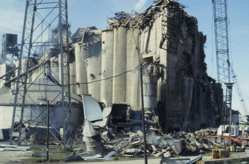 Взрыв на заводе Cargill в Новом Орлеане в декабре 1977