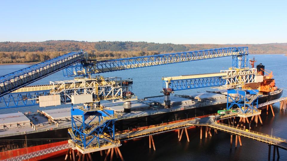 Порт ТЕМСО – КАЛАМА, США, загрузка 3,750 тон в час