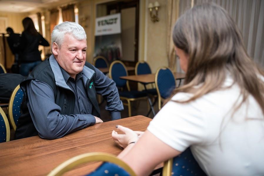 Хуберт Мартин, профессиональный демонстратор тракторов с 28-летним опытом работы в AGCO