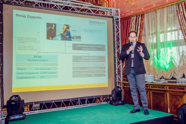 Руководитель отдела продаж «Цеппелин» Фарид Абу Хадид