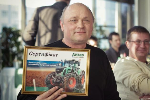 Главный инженер «Украинского Аграрного Холдинга» Петр Мельник