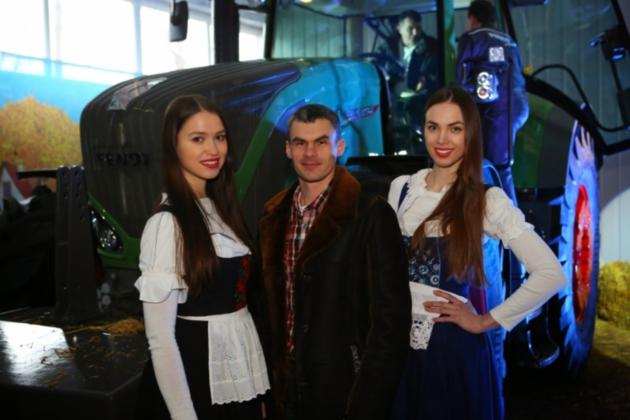 Евгений Плахотний - победитель Fendt Tour 2015 в Кировограде