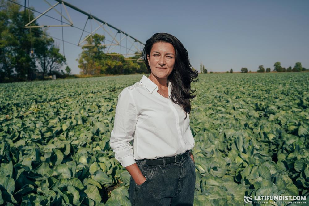 Наталья Жильникова, руководитель группы по продажам оросительных систем Valley «АСТРА»