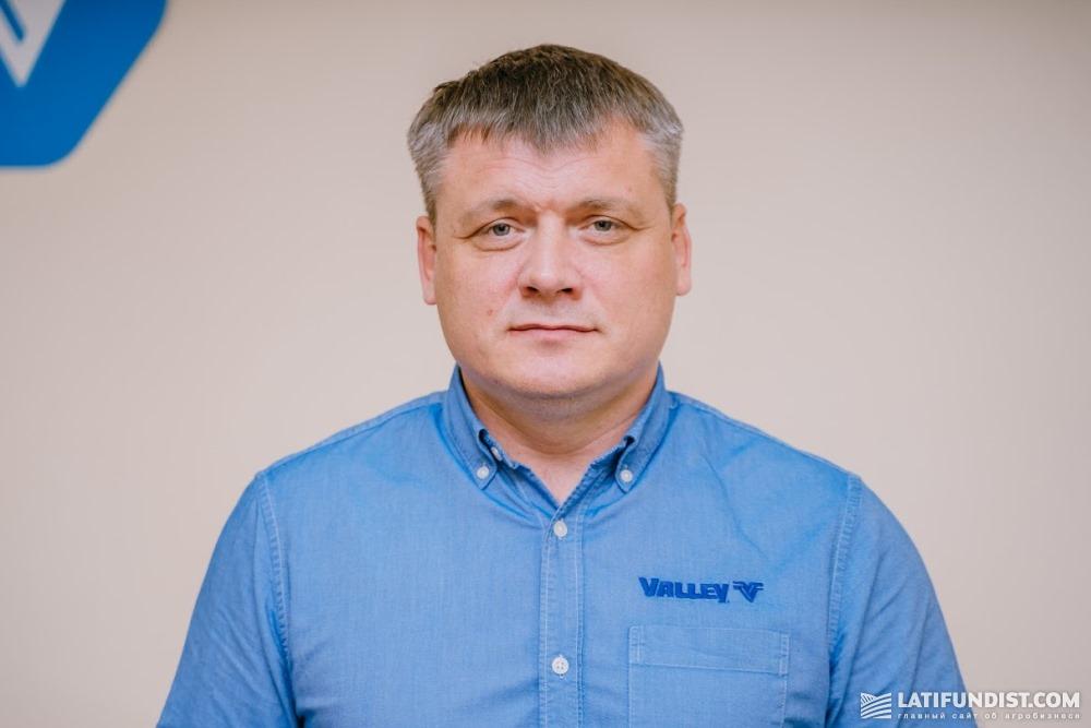 Сергей Мельниченко, территориальный представитель компании Valmont по продаже оросительного оборудования