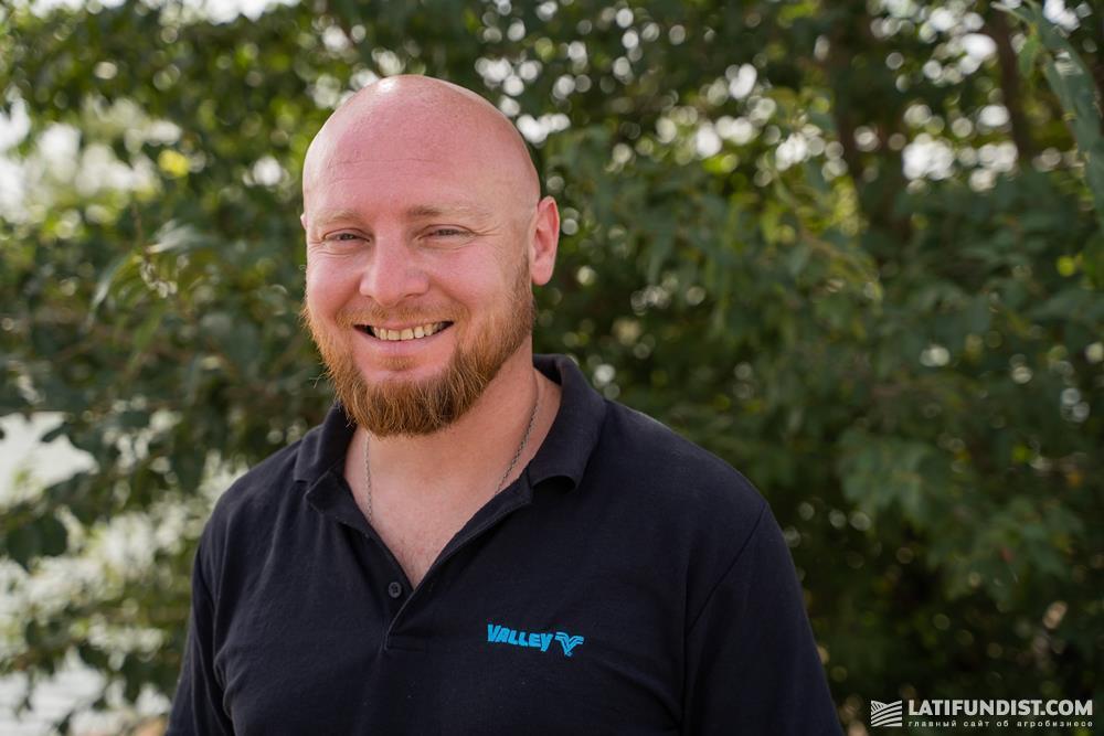 Борис Рубцов, технический менеджер Valmont в странах СНГ