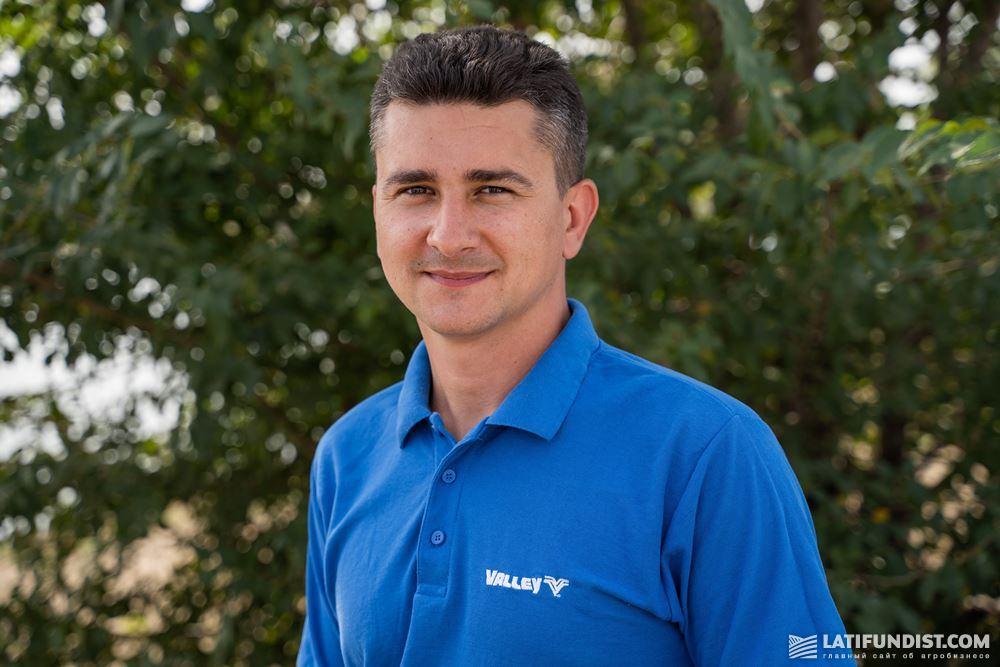 Дмитрий Жмак, ведущий менеджер по продаже систем орошения Valley компании «АСТРА»