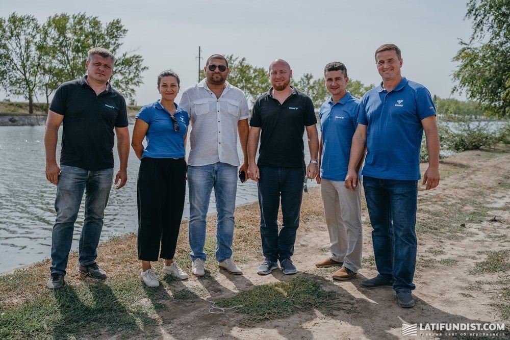 Команда гидротура с Виктором Возняком