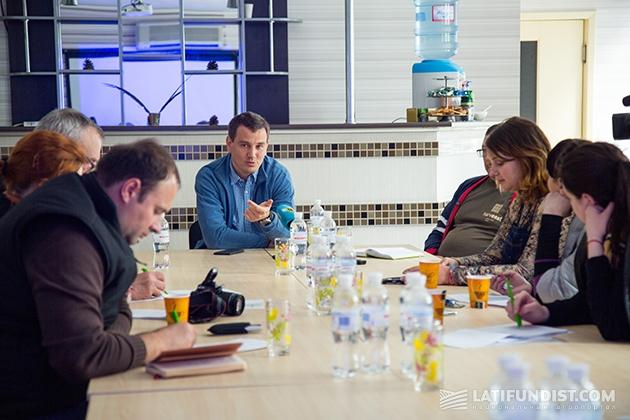Генеральный директор агрохолдинга HarvEast Дмитрий Скорняков
